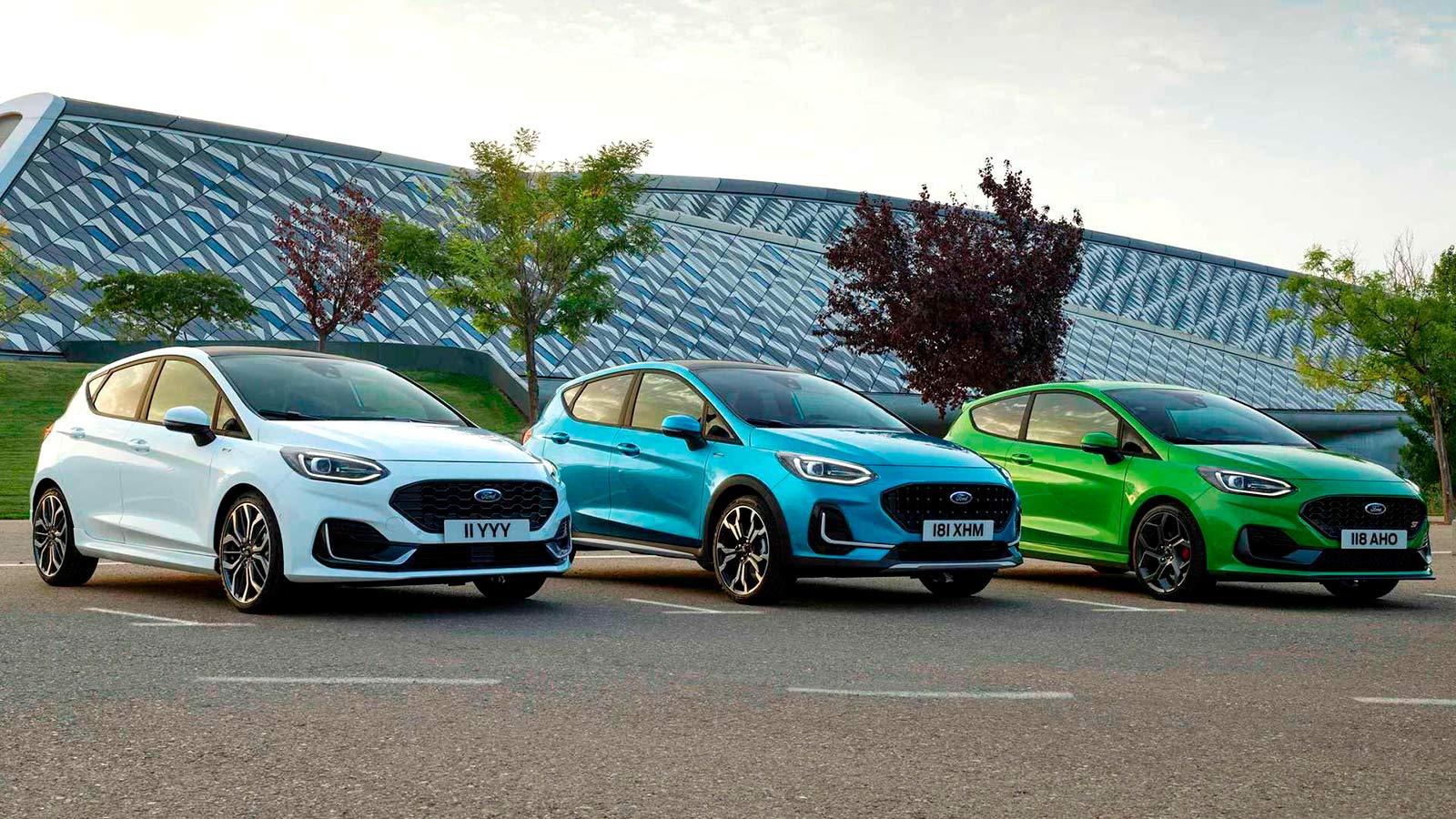 Хэтчбек Ford Fiesta - новое поколение